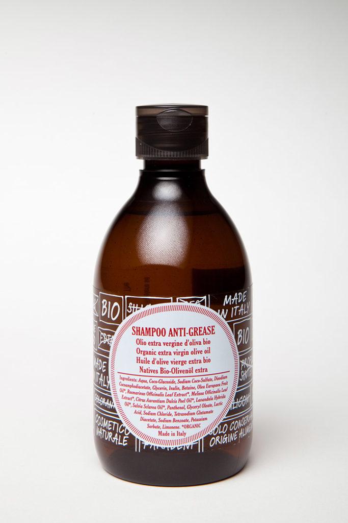 ricaricando shampoo anti-grease