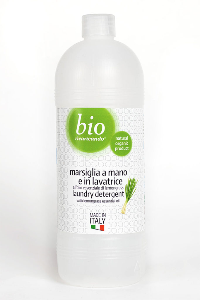ricaricando - laundry detergent with lemongrass essential oil