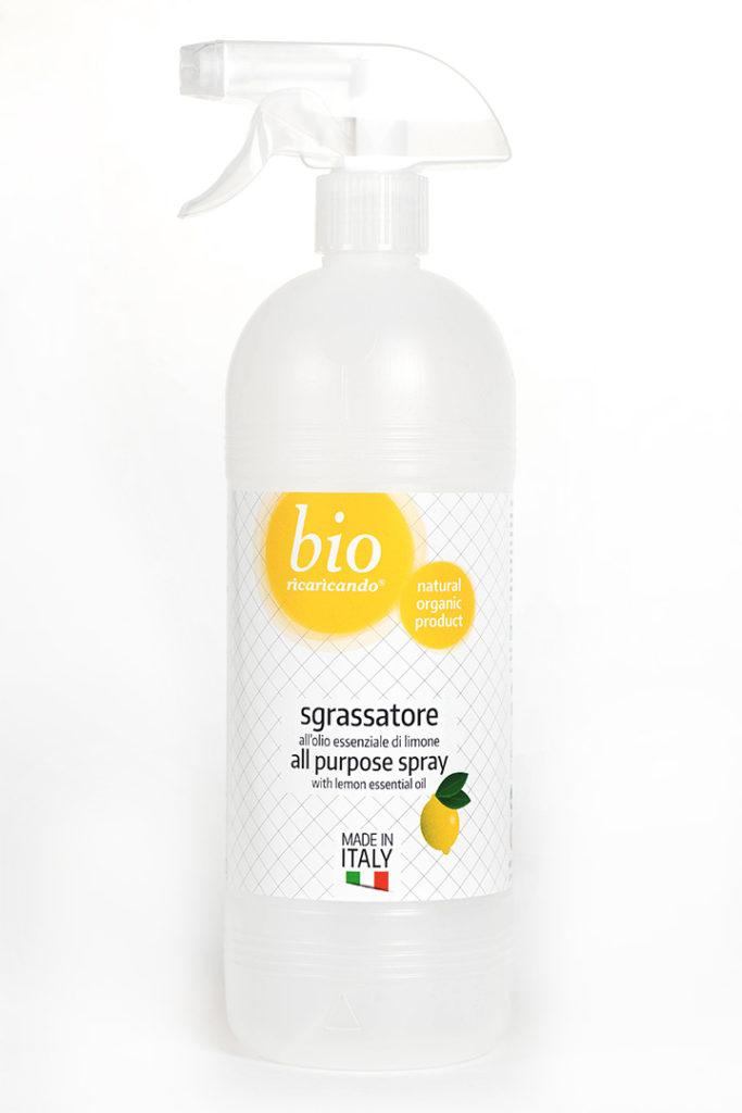 ricaricando - sgrassatore all'olio essenziale di limone