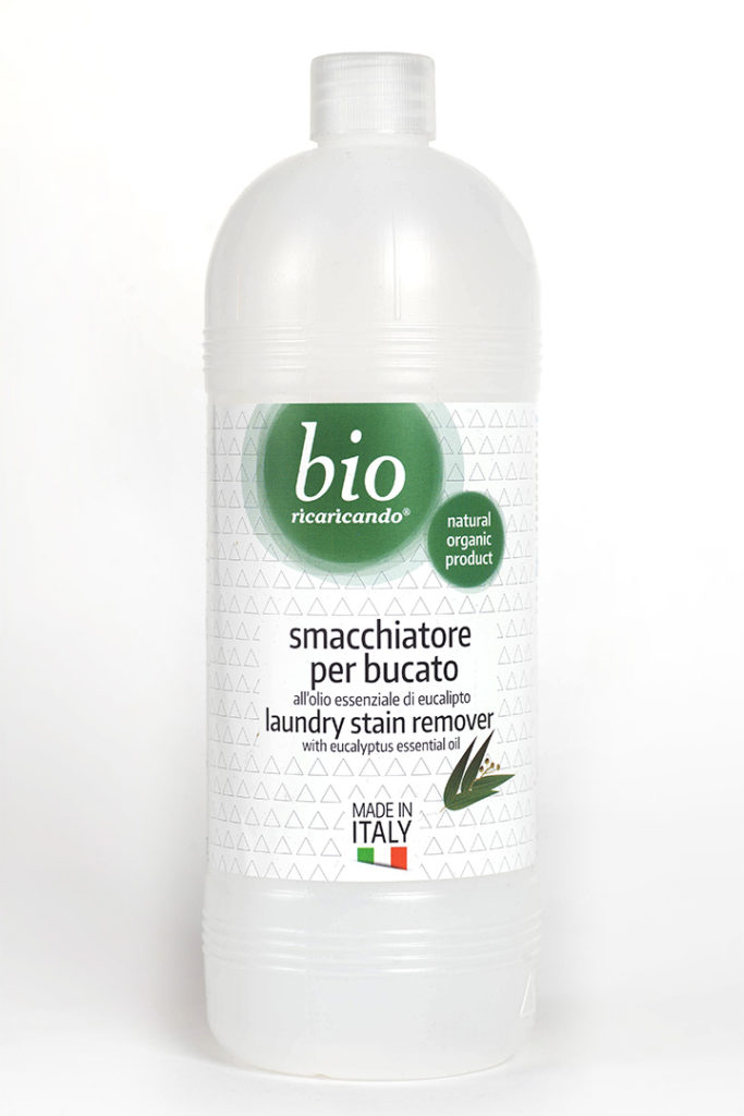 ricaricando - laundry stain remover with eucalyptus essential oil